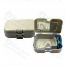 Portable Denture Box with Brush