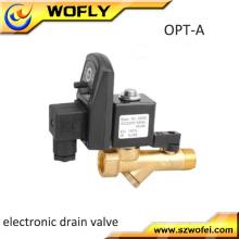 Réservoir d'air automatique automatique programmé Vanne d'évacuation d'eau humide pour compresseur