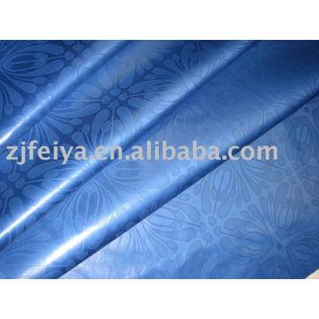 Damasco Shadda Bazin Riche Guinea Brocade tela africana tela de la ropa stock diseño de moda al por mayor 100% textiles de algodón