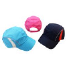 Спортивные шапки с сеткой или сеткой в полиэфире 1603