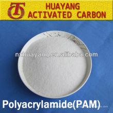 Poliacrilamida aniónica 800W-2200W HMW APAM floculante de purificación de agua