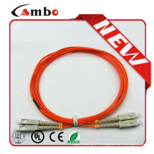 Duplex multimode SC/ST MM fiber optic patch cord,SC-SC fiber optic patch cable