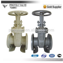 GOST pipeline manual cast steel chemical pipeline pn16 manual gate valve wholesale