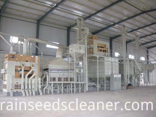 fine seed cleaner line