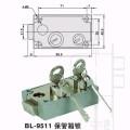 Safe Lock, Bank Safe Lock, Tow Head Safe Lock, Zb-208