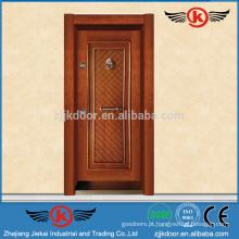 JK-AT9011 Portas de ferro forjado e vidro / portas metálicas exteriores / portas de sala