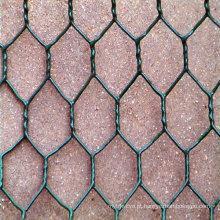 Boa qualidade galvanizado / PVC revestido Gabion caixa de malha de arame (fábrica)