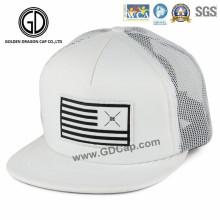 Chapéu ajustável do camionista do Snapback da qualidade de Hip Hop com remendo tecido
