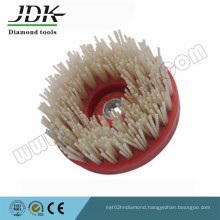 Jdk Round Diamond Brush and Silicon Carbide Brush for Granite