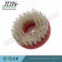 Jdk Round Diamond Brush and Silicon Carbide Brush for Granite