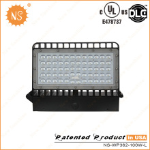 UL Dlc Listado IP65 Outdoor 11000lm 100W LED Wall Packs