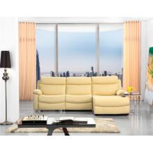 Досуг Италия Кожаный диван Современная мебель (715)