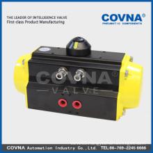 Double-acting pneumatic valve actuator