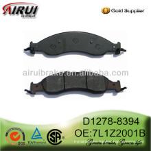 D1278-8394 auto brake pad for Lincoln Navigator L (OE No.:7L1Z-2001-B)
