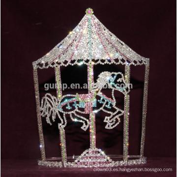 Corona de la tiara torbellino