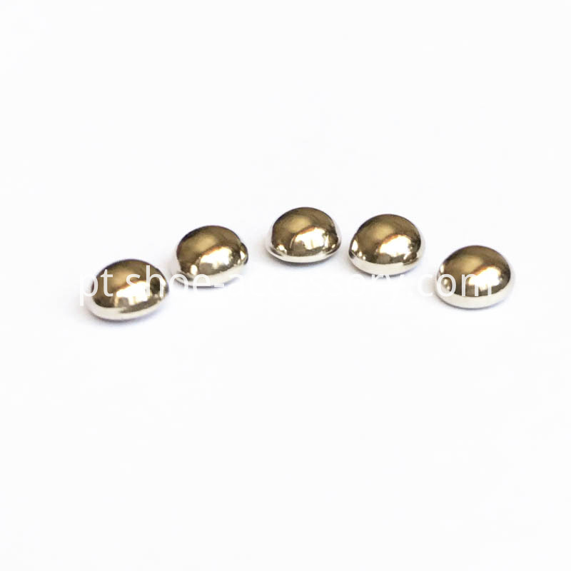 4mm Silver Plating Rivets with Half Ball Cap