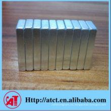 Tira rectangular neodimio imán