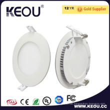 IP44 Round Dimmable CREE Bridgelux SMD Slim LED Panel Light