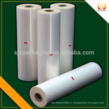 Film de laminage thermique matte bopp haute qualité pour l'emballage