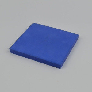 Blue Zirconia Ceramic Block for Wearable Devices