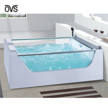 Glass Bathtub Freestanding/ Uk Bath/ Foshan Freestanding Bath Tub Suppliers