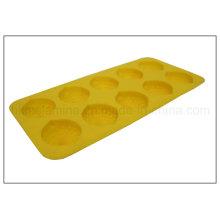 Limón en forma de bandeja de hielo cubo de silicona (RS19)