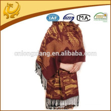 Kundenspezifischer Entwurf 2015 neuer spätester China-Fabrik-Preis 100% Silk Pashmina Schal-Hersteller