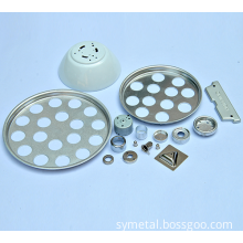 Metal Lighting Fixture Parts customized