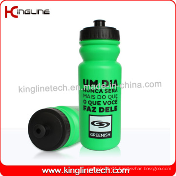 Plastic Sport Water Bottle, Plastic Sport Bottle, 600ml Plastic Drink Bottle (KL-6635)