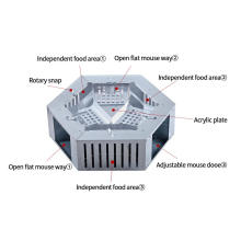 Armadilha de rato elétrica humana para roedores ao ar livre
