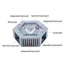 Piège à souris électrique sans cruauté pour rongeurs extérieurs