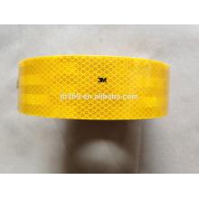 alta visibilidade 3M fita reflexiva amarela para uso de caminhão