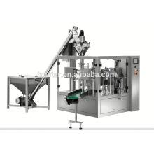 Machine d'emballage de type rotatif type prémade pour liquide