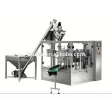 rotary type premade bag packing machine for liquid