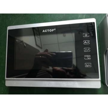 7-Zoll-Touchscreen-Video-Gegensprechanlage