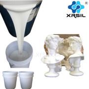RTV liquid silicone rubber statues mold making liquid silicone