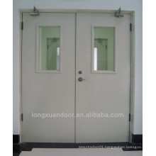 Safe steel fireproof doors with push bar for school                                                                         Quality Choice
