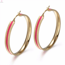 Orelha tradicional do projeto Cuff Antique Esmalte Rose Gold Earring Jóias