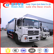 Dongfeng Kingrun 14 Tons Manual Compression Garbage Truck