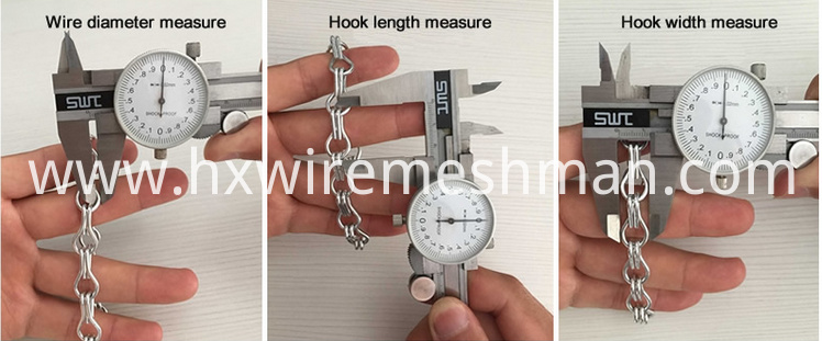 chain link screen measure