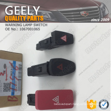 OE GEELY spare Parts warning lamp switch 1067001065
