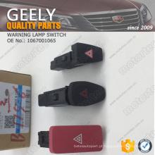 OE GEELY peças de reposição interruptor de luz de aviso 1067001065