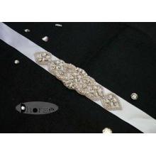 Wedding Dresses 5 cm Width Handmade Rhinestone Wedding Belt