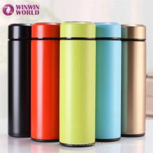 Tasse thermos portative chaude de vide d'acier inoxydable de double paroi