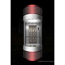 Machine de traction sans engrenage Ascenseur panoramique