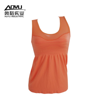 Mulheres Yoga Fitness Vestuário Running Sports Tank Tops