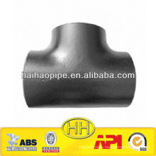 ASTM A234 WPB steel straight tee