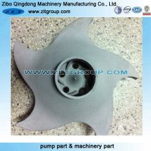 Centrifugal ANSI Durco Mark 3 Pump Impeller for 3X2-13 Size with Titanium Alloy 316ss or CD4
