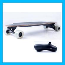 Whie Wheel Cruise Control Wireless Electric Skateboard