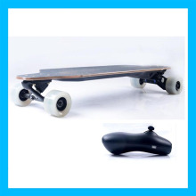 Whie Wheel Cruise Control Wireless Electric Skateboard